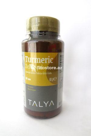 Turmeric kapsul (sarıkök), 60 kapsul