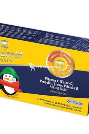 Vitacold Ester-C(20 tablet)